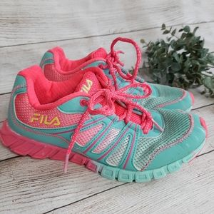 Fila Pink Blue Sneakers running shoes 5
